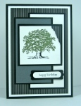 Lovely as a Tree Man Card