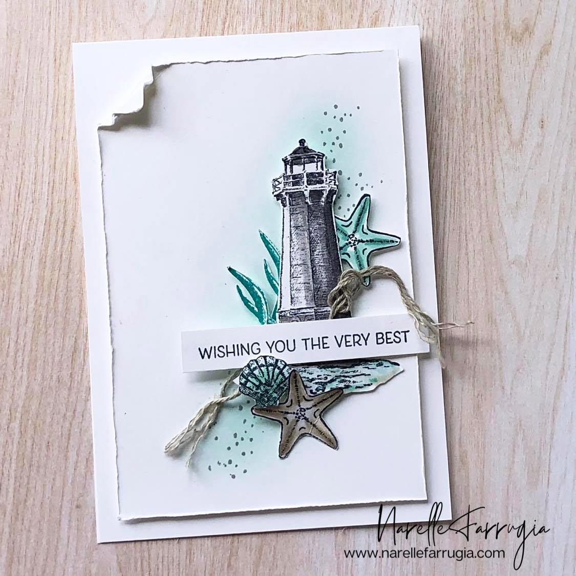 Seashells and A Lighthouse